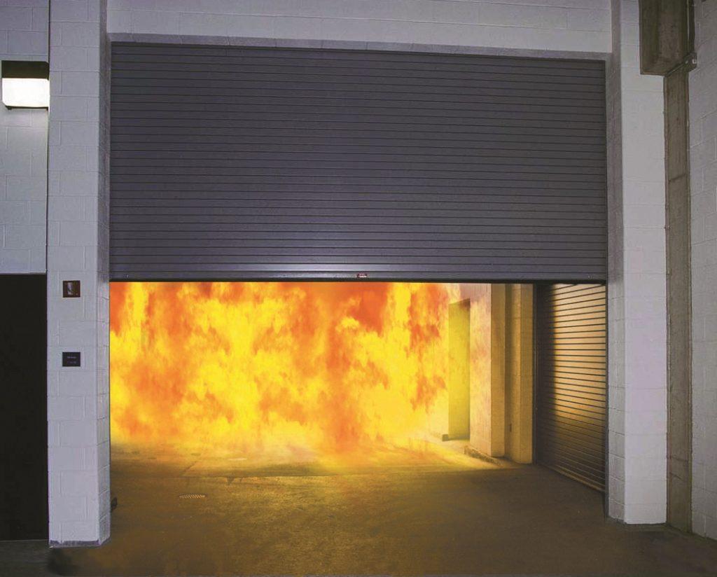 coiling Fire Door M100 1024x824 Commercial Fire Doors