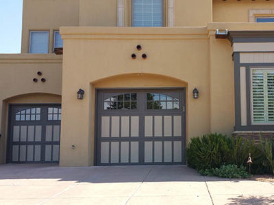 BDC Door Garage Door Amarr Classica Carriage House Two Tone 400x300 Residential Products