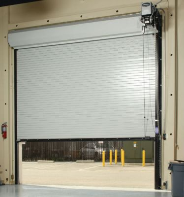 Roll Up coiling Insulated Overhead Doors Commercial Coiling Doors